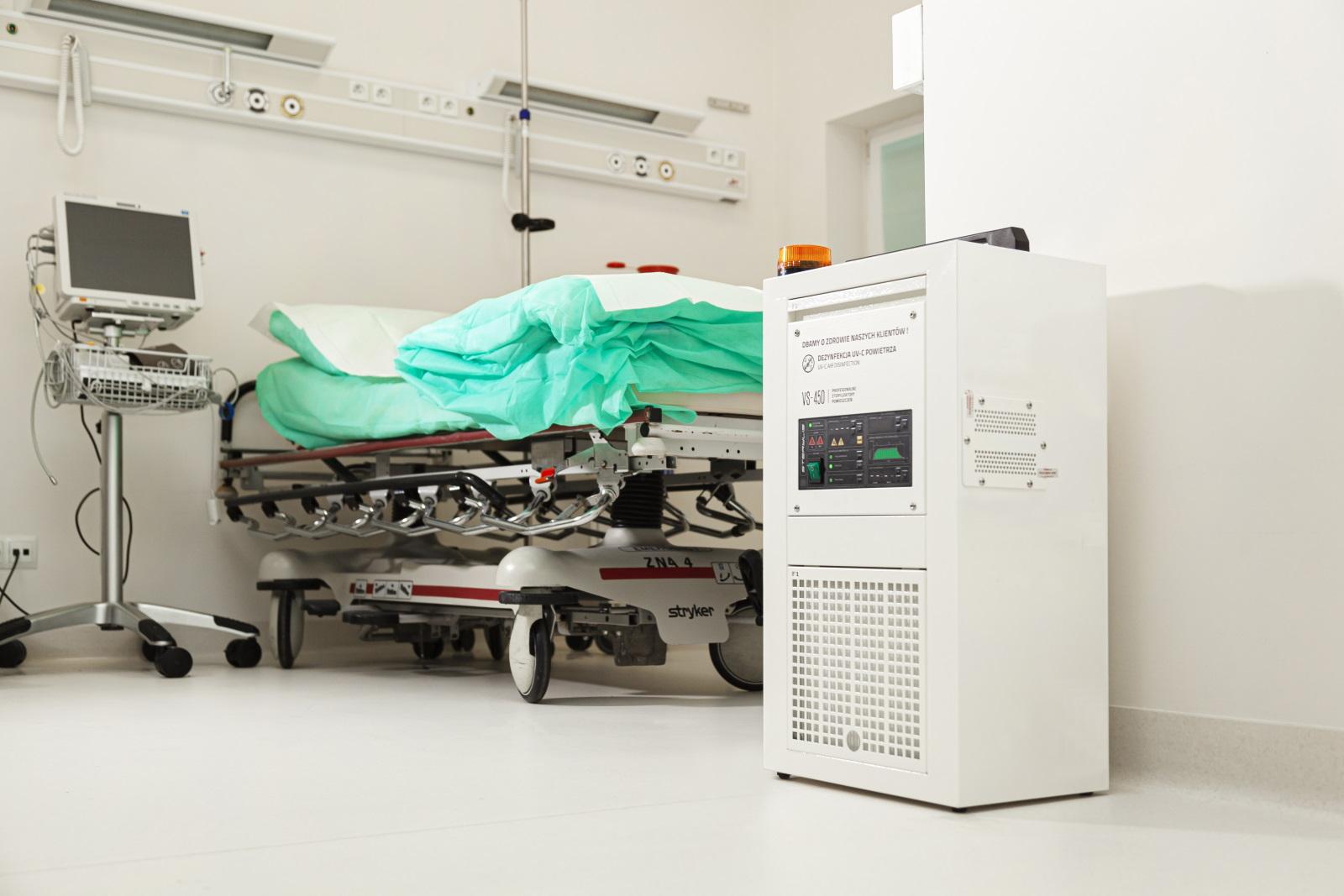 Sterylis chroni pacjentów i personel szpitala w Bochni